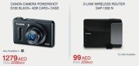 CANON CAMERA & D-LINK WIRELESS ROUTER