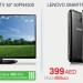 LG Plasma HD Tv & Lenove A390 BLACK SmartPhone offer at Carrefour offer at Carrefour in Dubai UAE