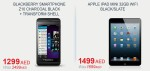 BlackBerry Z10 SmartPhone & Apple iPad Mini