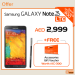 Samsung Galaxy Note 3 Deal at Axiom