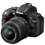 Nikon D5200 Digital SLR Camera Black