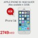 Apple iPhone 5S Available at Carrefour
