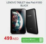 Lenovo Tablet Offer at Carrefour