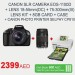 CanonSLR Camera EOS 1100D Offer at Carrefour