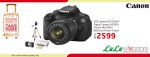 Canon EOS 650D SLR Camera Deal at LuLu  webStore