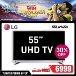 LG  55″ UHD Smart TV Deal at Emax