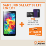 Samsung Galaxy S5 Special Deal at Axiom