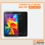 Samsung Tab 4 Deal at Axiom