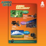Gitex Exclusive Smart TVs Deals at Jumbo