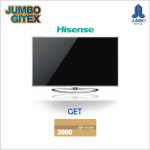 "Gitex Deal on Hisense 65"" Ultra HD 4K Smart TV at Jumbo"