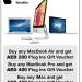 MacBook Air,MacBook Pro & iMac  Deal at Plug Ins