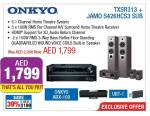 ONKYO Home Theatre System Exclusive Offer at Plug Ins
