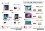Apple iPad & MacBooks Crazy Offers at Emax