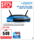 Linksys WRT AC1200 Dual Band Router Offer at Plug Ins