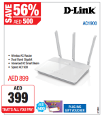 D-Link AC1900 Wireless Router Great Offer at Plug Ins
