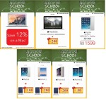 Apple Mac Book & iPads Great Back to School Offers at Sharaf DG