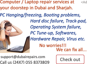 Computer / Laptop Repair in Dubai