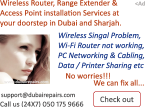 Wireless Router Installation in Dubai