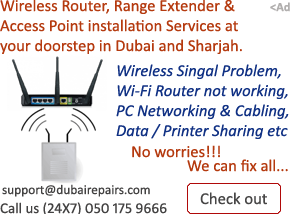 Wireless Router installation services