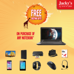 Laptops Exciting Offers at Jacky's
