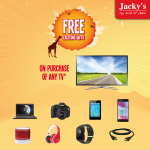 Smart TVs Great Offers at Jacky's