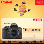 Canon EOS750DKIT Camera Awesome Offer at Jacky's