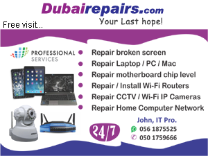 Laptop Repair Dubai