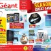 Season's Great Savers Deals  at Geant Hypermarkets