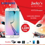 Samsung Galaxy S6 Edge Smartphone Offer at Jacky's