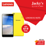 Lenovo K3 Note Amazing Offer at Jacky's