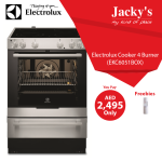 Electrolux Cooker Awesome Offer at Jacky's