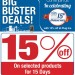 Amazing 15% Discount Offers at Plug Ins