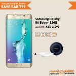 Samsung Galaxy S6 Edge 32GB Smartphone  Offer at Axiom