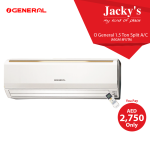 O General 1.5 Ton Split A/C Offer at Jacky's