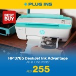 HP 3785 Smallest All-in-One Printer Offer at Plug Ins