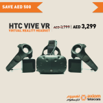 HTC Vive VR Offer at Axiom Online Store