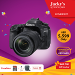 Canon EOS 80D Camera Offer at Jacky's