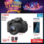Canon EOS 700D DSLR Camera Offer at Emax