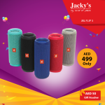 JBL Flip 3 Speaker Offer at Jacky's