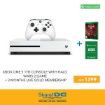Xbox One S 1TB Console Crazy Offer at Sharaf DG