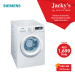 Simens WM12K210GC  Automatic Washing Machine 8KG Offer at Jacky's