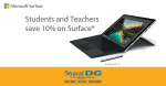 Microsoft Surface Pro 4 Offer at Sharaf DG