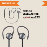 Samsung Level Active Headset Offer at Axiom