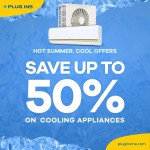 Cooling Appliances 50% Discount Offers at Plug Ins Online Store