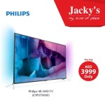 Philips 65PUT6800 65″ Ultra HD 4K Smart TV Offer at Jacky's