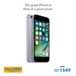 Apple  iPhone 6 32 GB Offer at Sharaf DG