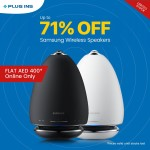 Samsung Wireless Speakers Offer at Plug Ins Online Store