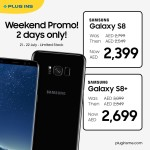 Samsung Galaxy S8 & S8+ Smartphone Offer at Plug Ins Online Store