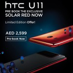 HTC U 11 Solar Red Smartphone Offer at Axiom