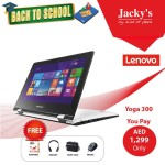 Lenovo Yoga 300 Laptop Offer at Jacky's Online Store